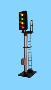 Berko OO B604 4 Light Signal Red/Green/2yellow Standard Square Head