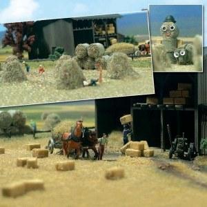 Busch OO BUS1212 Hay Bundle Set