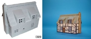 Dapol OO C020 Thatched Cottage