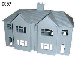 Dapol OO C057 Semi Detached Houses Pair
