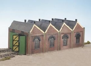 Wills Kits OO CK12 Two Road Engine Shed