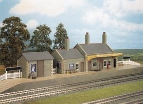 Wills Kits OO CK17 Country Station stone built