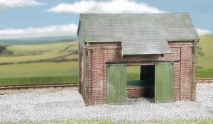 Wills Kits OO CK19 Goods Shed brick type