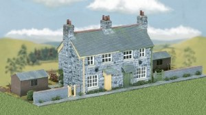 Wills Kits OO CK21 Semi-detached Stone Cottages