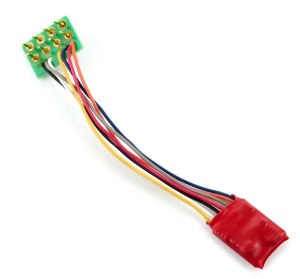 Gaugemaster Other DCC92 Ruby Series 2 Function Small DCC Decoder 8 Pin