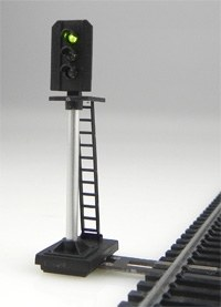Train Tech OO DS3 3 Aspect Home Distant Signal
