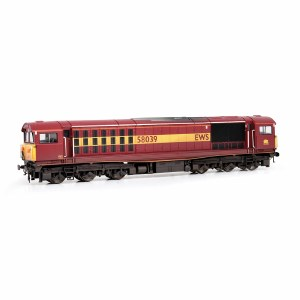 EFE Rail OO E84008 Class 58 58039 EWS [W]