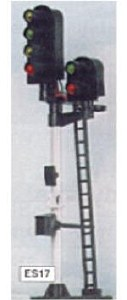 Eckon OO ES17 4-2 Aspect Junction Signal Kit Round Head