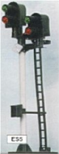 Eckon OO ES5 2-2 Aspect Home Junction Signal Kit Round Head