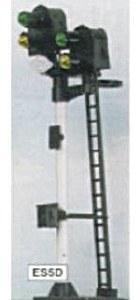 Eckon OO ES5D 2-2 Aspect Signal Distant Junction Signal Kit Round Head