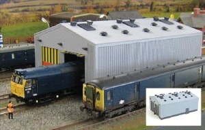 Gaugemaster OO GM406 Fordhampton Locomotive Depot Plastic Kit