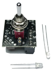 Train Tech Other MS1 Mimic with Toggle Switch and Plug in LEDs