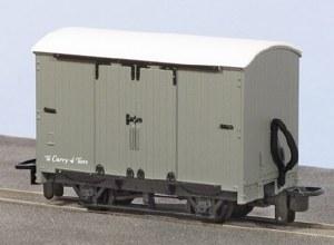 Peco OO9 GR-220U Box Van Grey with No Lettering