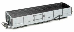 Peco OO9 GR-230U 8 Ton Bogie Open Wagon Grey Unlettered