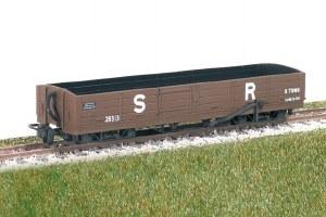 Peco OO9 GR-231 8 Ton Bogie Open Wagon, Ex L&B Souther Railway No 28313
