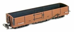 Peco OO9 GR-231U 8 Ton Bogie Open Wagon Brown Unlettered