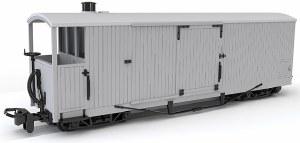 Peco OO9 GR-241 8 Ton Bogie Goods Brake Van, Ex L&B Souther Railway