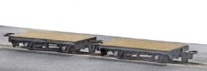 Peco OO9 GR-300 4 Wheel Flat Wagon pack of 2
