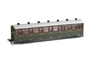 Peco OO9 GR-441B Lynton and Barnstaple Railway All Third Coach SR Livery Number 2471