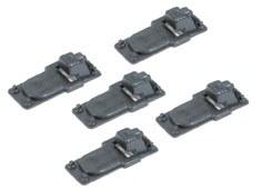 Peco O IL-713 Slide Rail Base plates for Code 143 rail