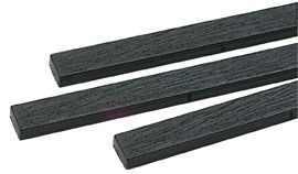 Peco O IL-714 Moulded Wood Grain Sleepers for turnouts