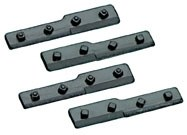 Peco O IL-717 Cosmetic dummy fishplates for joining bullhead to flat bottom