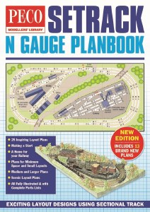 Peco N IN-1 Setrack N Gauge Plan book