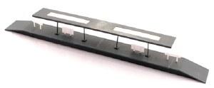 Kestrel N GMKD10 Island Platform with Flat Canopy