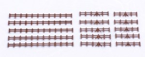 Kestrel N GMKD13B Farm Rail Fencing Brown