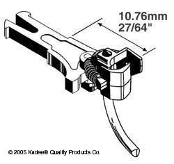 Kadee OO KDE19 Kadee 19  NEM362 European Coupler Medium Long 10.76mm (2pr)