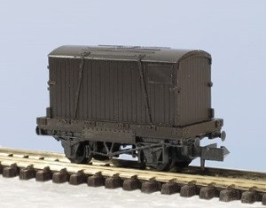 Peco N KNR-20 Conflat Wagon single plank