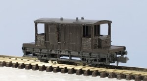 Peco N KNR-29 15ft Brake Van SR