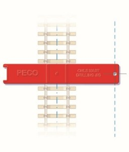 Peco OO LC-115 OHLE Catenary System Installation Jig