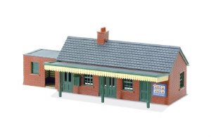 Peco OO LK-12 Country Station Building brick type