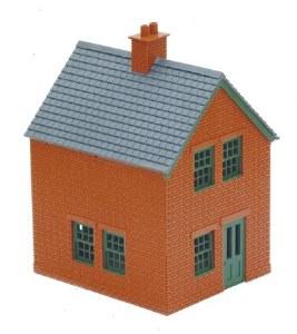 Peco OO LK-14 Station Houses brick type