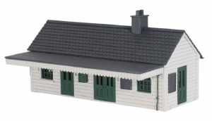 Peco OO LK-200 Wooden Station