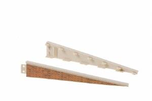 Peco OO LK-66 Platform Edging Ramps brick type