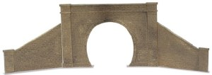 Peco O LK-731 Tunnel Mouth and Walls stone type single track