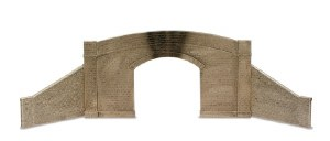 Peco O LK-733 Road Bridge sides and Walls stone type single track