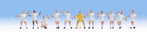 Noch OO 15971 Football Team - England Style (11) (HO Scale)