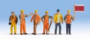 Noch N 36277 Track Workers Figure Set (6)