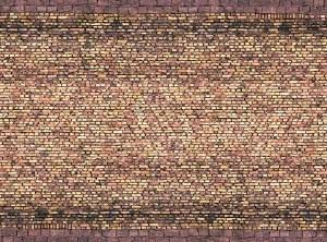 Noch OO 56605 Yellow Brick 3D Cardboard Sheet 25 x 12.5cm