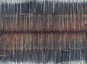 Noch OO 56665 Weathered Timber Wall 3D Cardboard Sheet 25 x 12.5cm