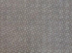 Noch OO 56722 Modern Pavement 3D Cardboard Sheet 25 x 12.5cm
