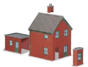 Peco N NB-14 Station Houses brick type
