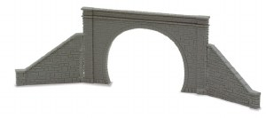 Peco N NB-32 Tunnel Mouth and Walls stone type double track