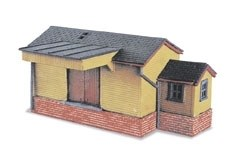 Peco N NB-6 Goods Shed wooden type