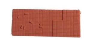 Peco N NR-202T Bricks terracotta