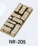 Peco N NR-205 Crates natural/timber colour