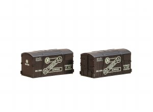 Peco N NR-213 GWR Furniture Removals Container (pack of 2)